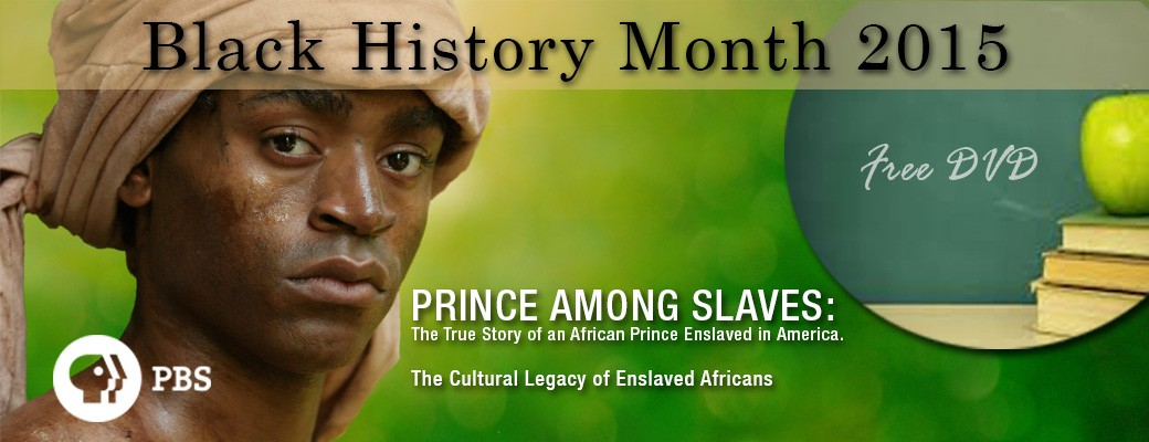 Prince Among Slaves – Black History Month 2015