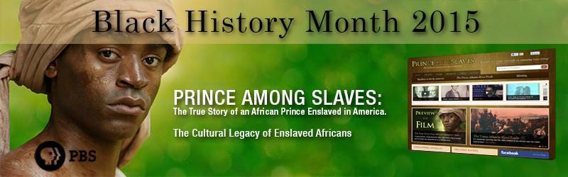 Prince Among Slaves – Black History Month 2015